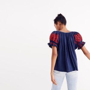 Ulla Johnson embroidered top